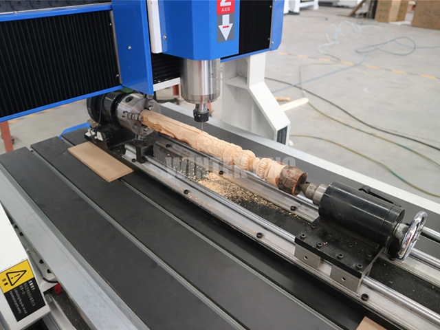 4th axis cnc router machine 6090 with rotary engraving wood