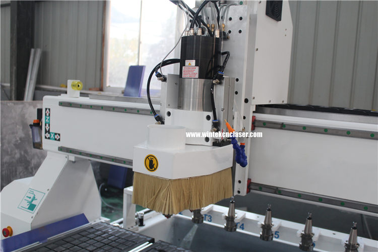automatic tool changer cnc router spindle