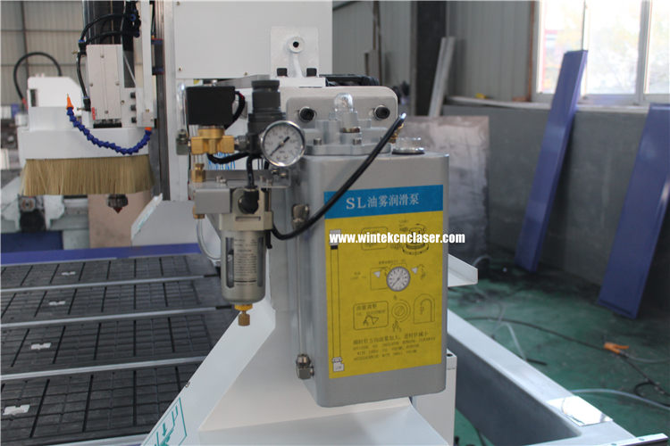 oil mist lubrication pump for automatic tool changer cnc router