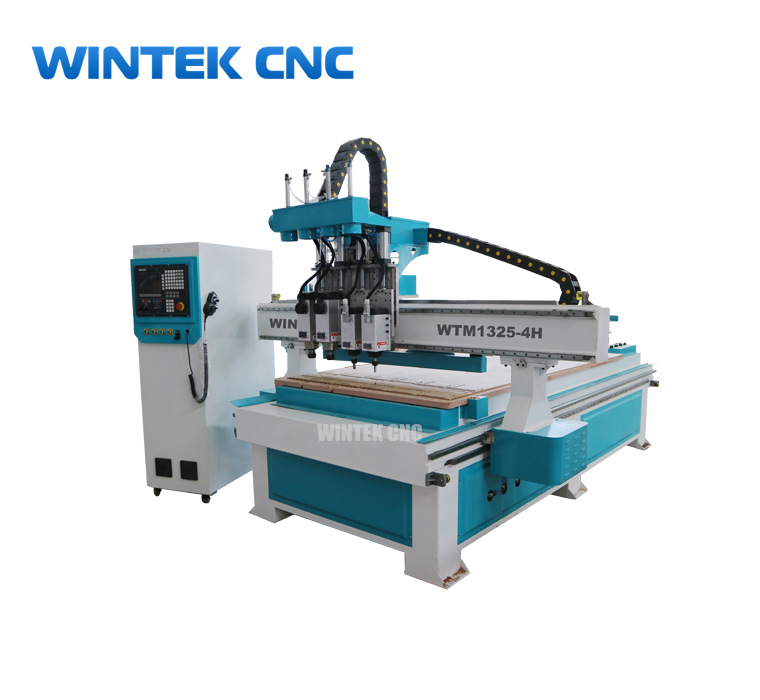 Best automatic 3d wood carving cnc router machine with 4 spindles