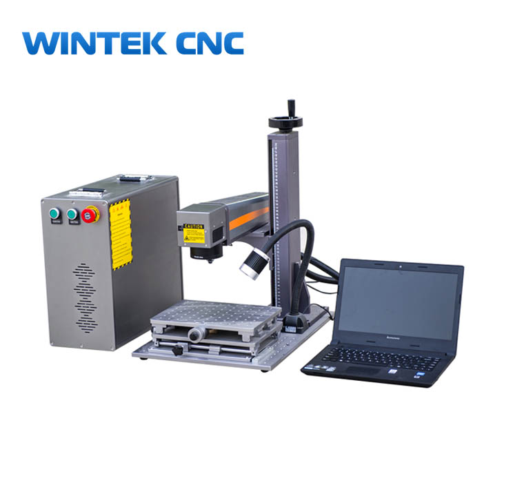 20w 30w 50w jpt mopa fiber laser marking machine with color engraving