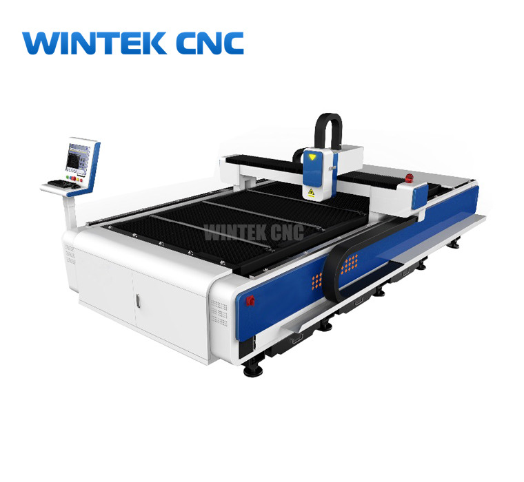 Sheet metal fiber laser cutting machine for sale with factory price