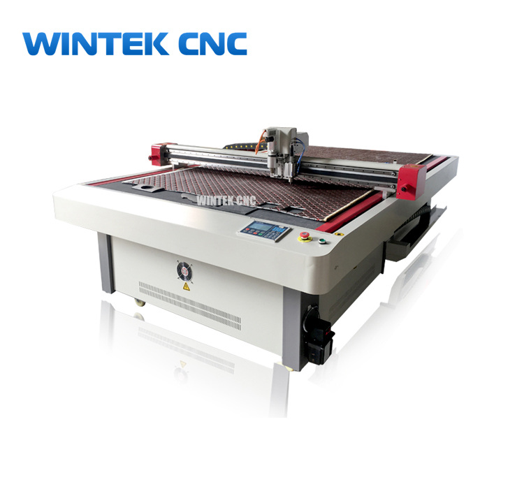 CNC oscillating knife cutter for carton, carpet, foam,rubber, fabric, leather