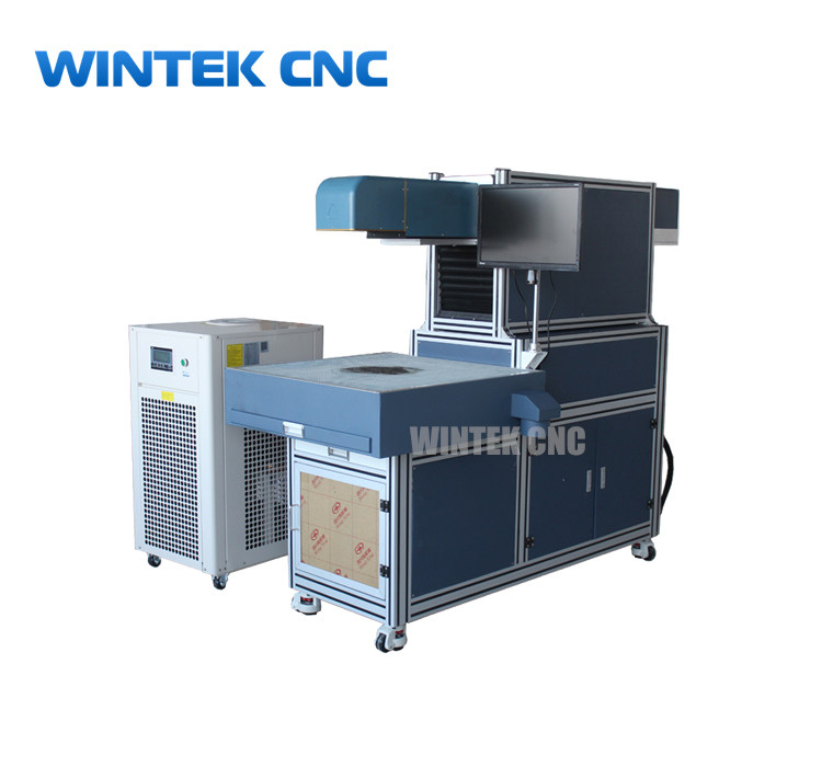 Automatic 3d dynamic co2 laser marking machine for cards,paper,leather,wood