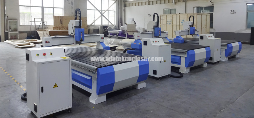 3 sets WTM1325 woodworking cnc router are ready to Singapore