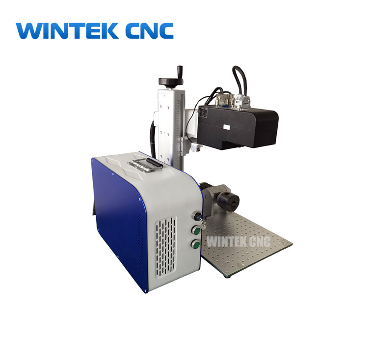 3D metal fiber laser engraving machine on curve surface with dynamic focusing