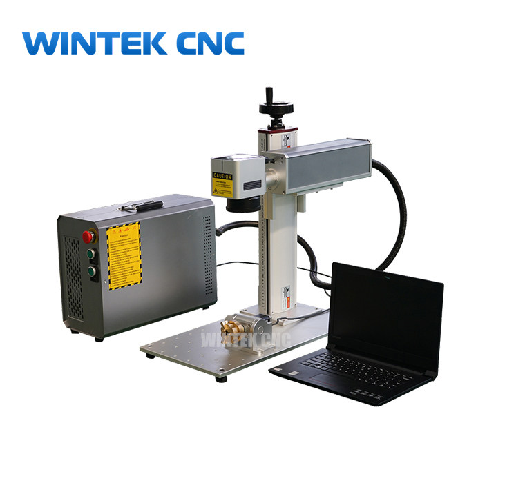 3D metal deep laser engraving machine for sale -3D fiber laser marking machine