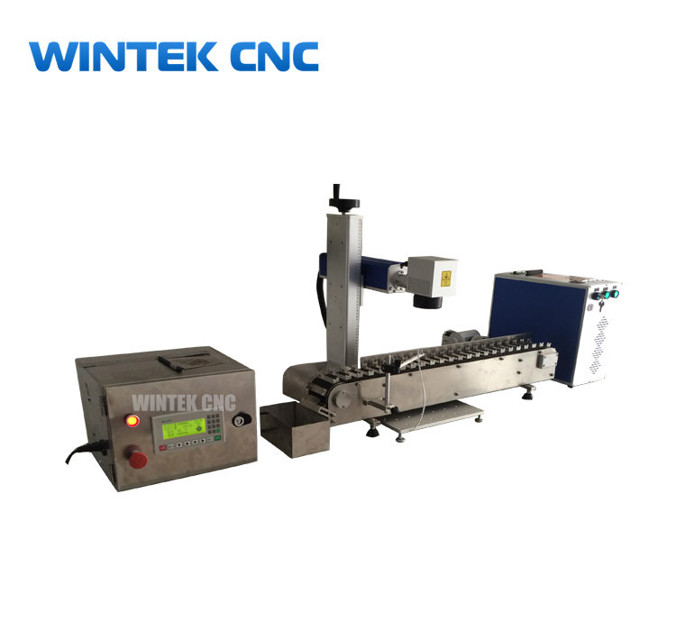 Pen laser engraving machine with conveyor belt - pen laser engraver machine
